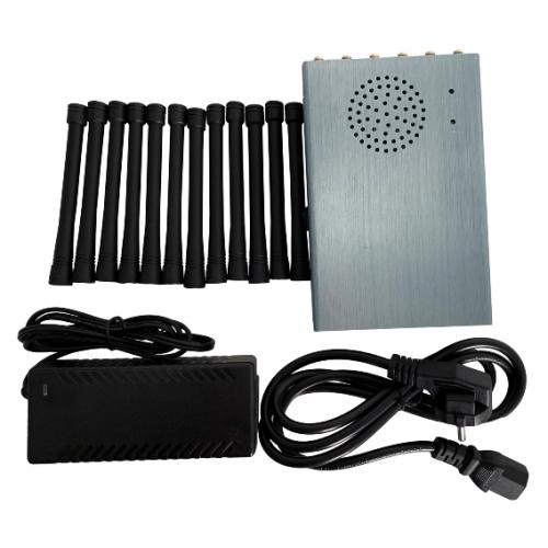 Ястреб-12+5G. Усиленная глушилка GSM/3G/4G/GPS-L1-L5/RC-315-433-868/Lojack/WIFI 5G, 12W