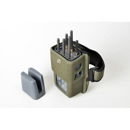Антей - мощный 6-частотный подавитель CDMA/GSM/DCS/3G/WiFi/GPS. 5W.