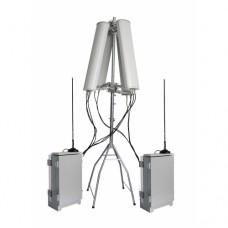 Антидрон-шатер+. 7-канальный подавитель дронов, 2*178W. До 3000 метров.