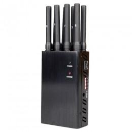 Бекас. Универсальный переносной подавитель 8 каналов связи. Мобильные телефоны, WiFi, 3G , 4G,GPS, LOJACK. 4W.