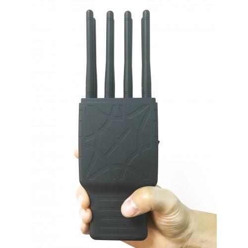 Грач. Универсальная 8-частотная глушилка CDMA, GSM, DCS, 3G, GPS,WIFI,4G сигнала. 5.5W