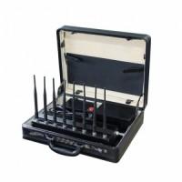 Купол-8-кейс. Мощный переносной подавитель GSM/DCS/3G/UHF/VHF/WiFi/ПДУ, 23W